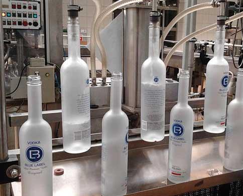 Bottling | Blue Label Polish Vodka
