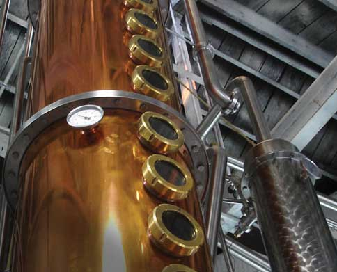 Distillation | Blue Label Polish Vodka